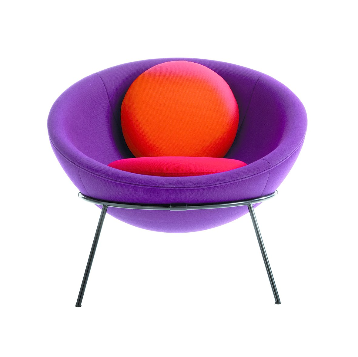 Living Room and Chair  Photo 9 of 11 in Modern Master Lina Bo Bardi's Bowl Chair Makes a Comeback