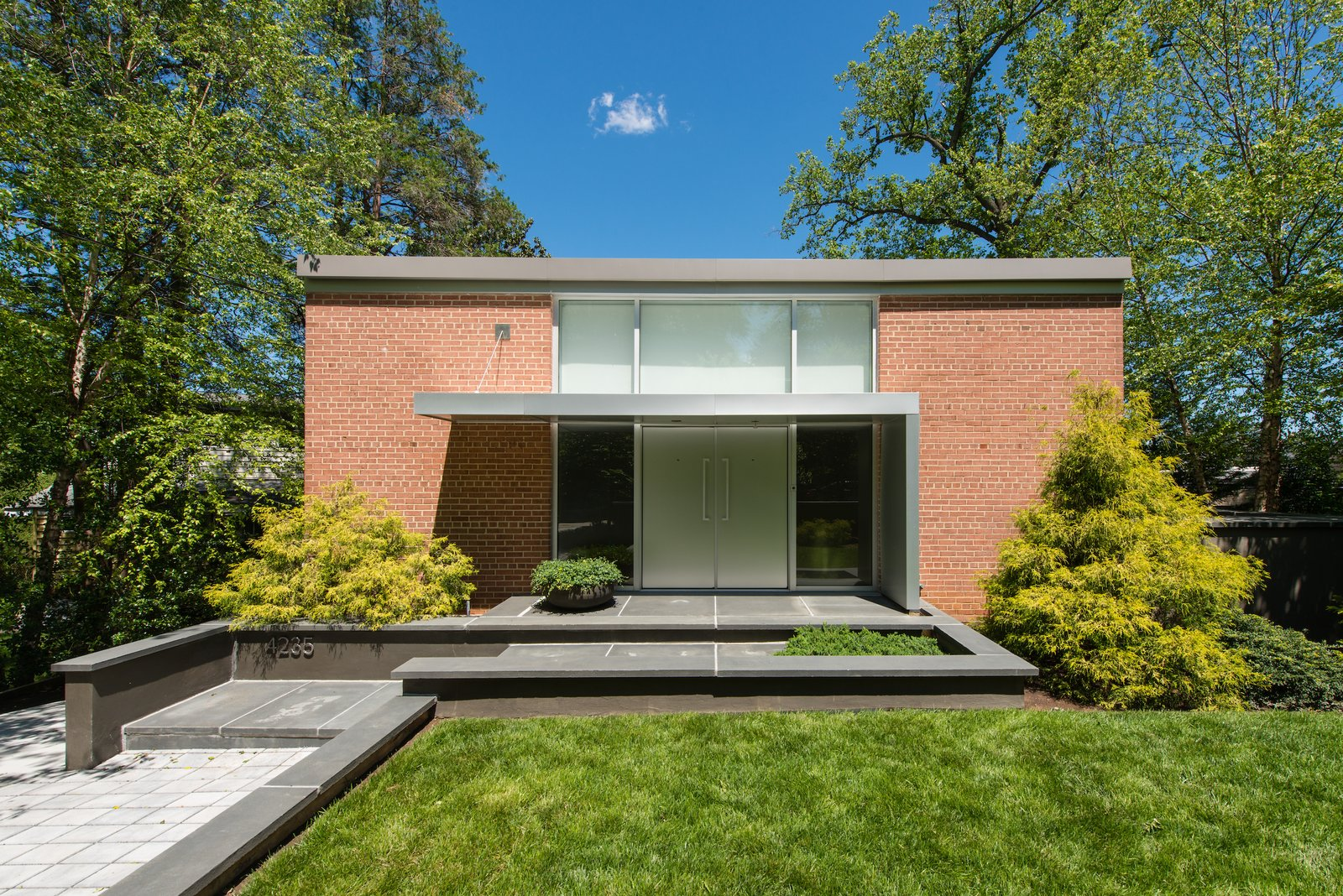 snag this rare international style home in washington d c dwell