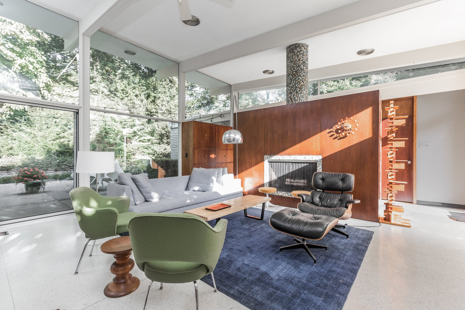 A Midcentury Gem by a Famed Indiana Architect Offered at $450K