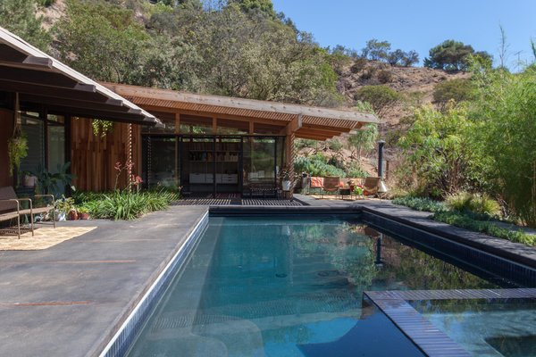 Hole Up in This Quintessential Midcentury Modern Rental in Hollywood - Photo 11 of 12 -