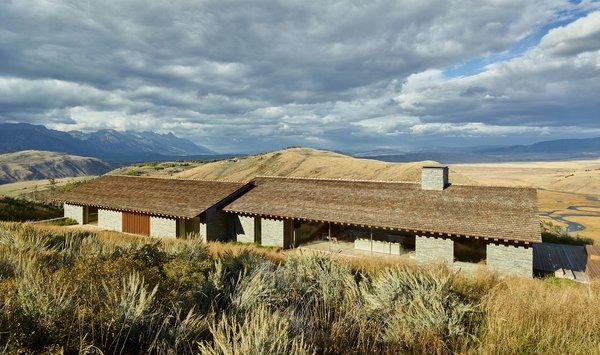 This Modern Stone Cabin Looks Like It Belongs in Middle-Earth