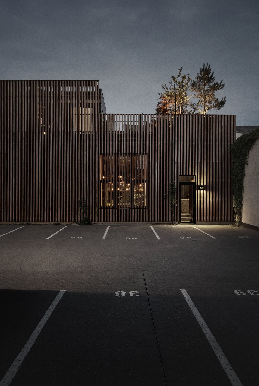 Exterior, House Building Type, and Wood Siding Material  Photo 11 of 12 in An Old Factory in Copenhagen Is Now a Photographer's Dream Home