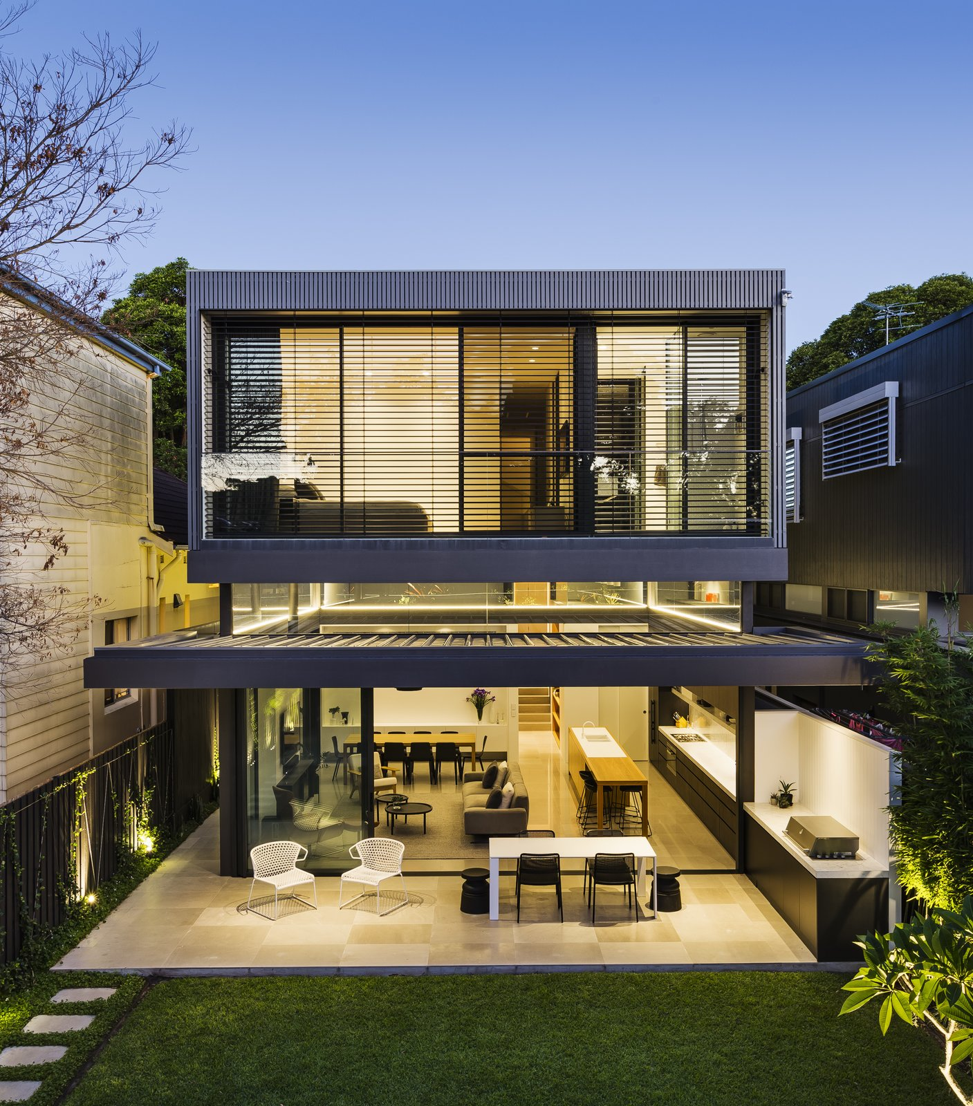 Two Story Addition: Photo 3 Of 13 In A Sleek, Two-Story Addition Hides Behind