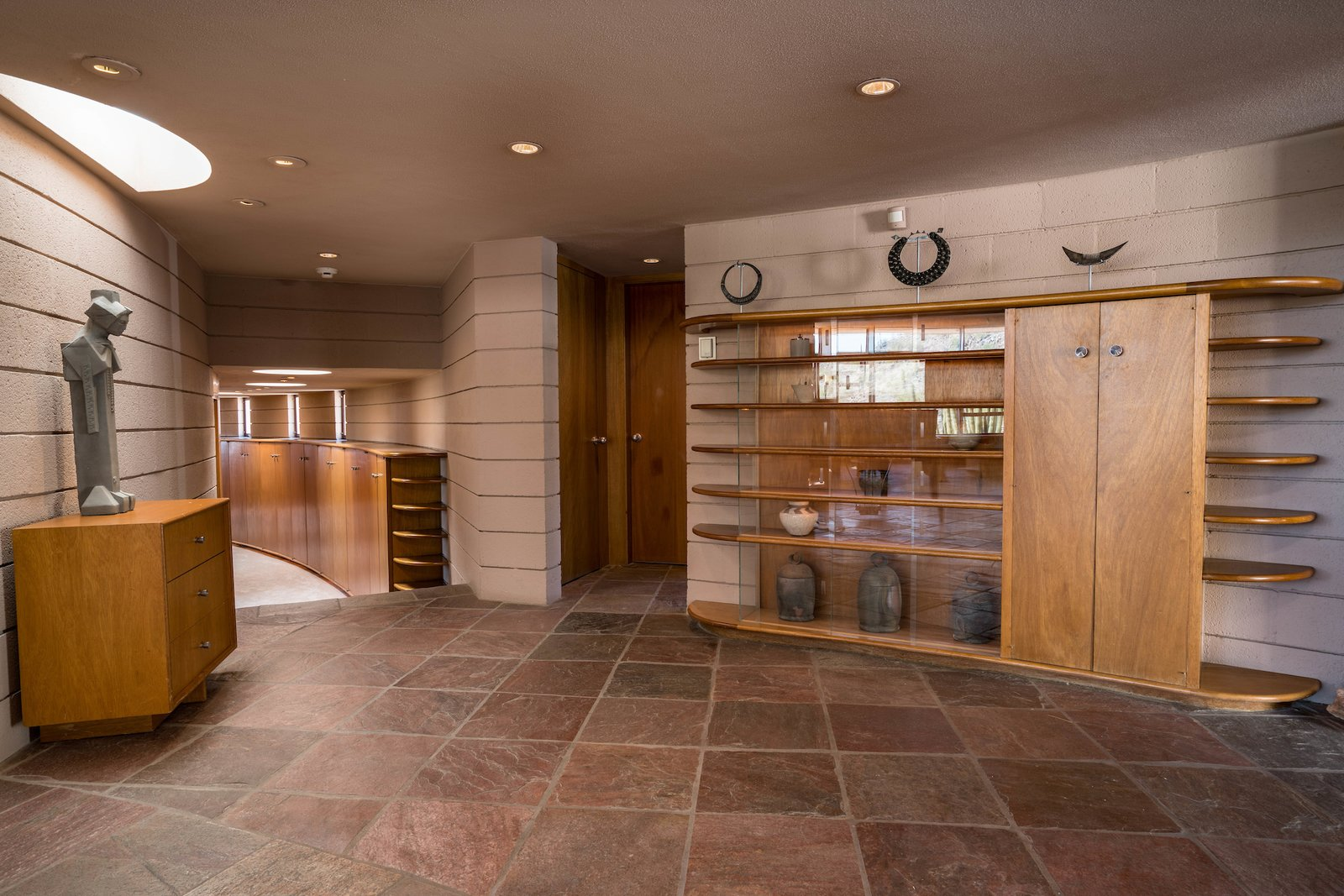 Storage Room and Shelves Storage Type  Photo 4 of 15 in The Last House Designed by Frank Lloyd Wright Is Being Auctioned Without Reserve