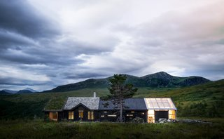This Astounding Cabin in Norway Is a Patchwork of Different Materials