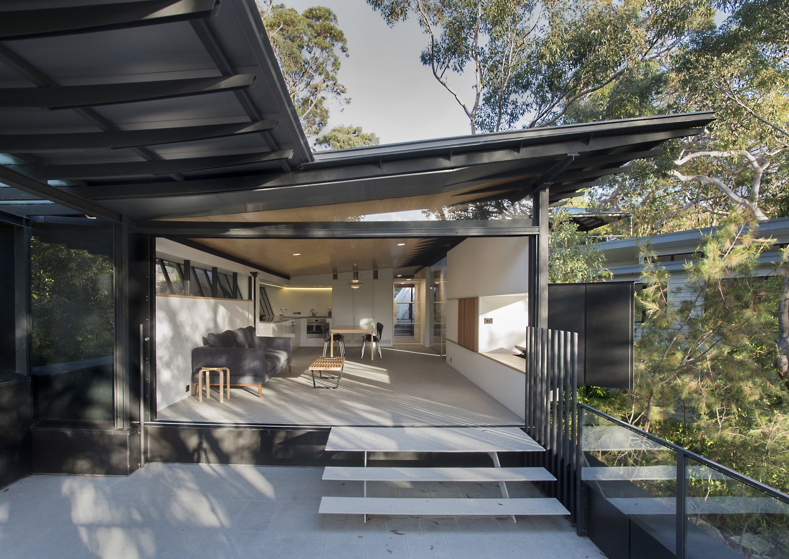 Doors, Exterior, and Sliding Door Type  Best Photos from An Arresting Australian Abode by Glenn Murcutt Needs a Buyer