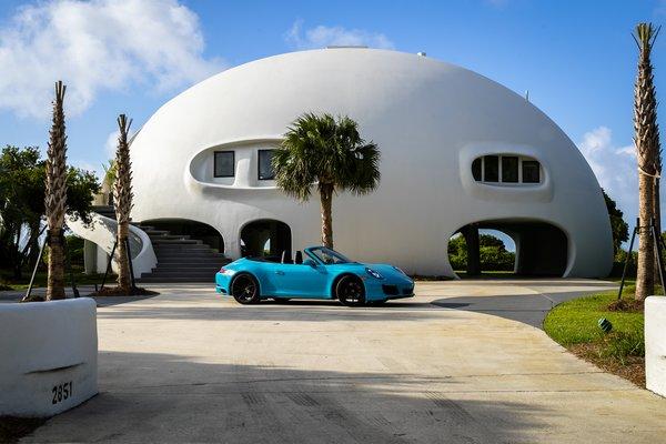 A Hurricane-Resistant Dome House Near Charleston Asks $4.9M