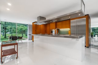 Generous sight-lines and copious glazing allow for unimpeded views of the surrounding property.