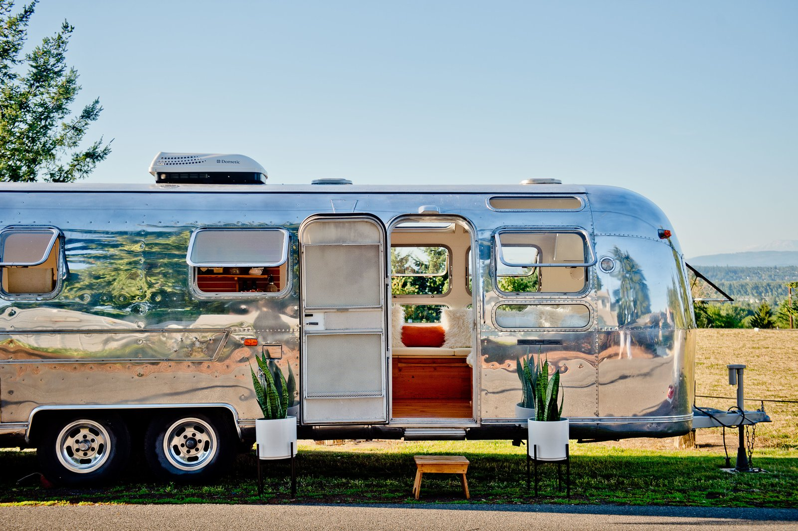 Rent This Reimagined Airstream For Your Next Shindig