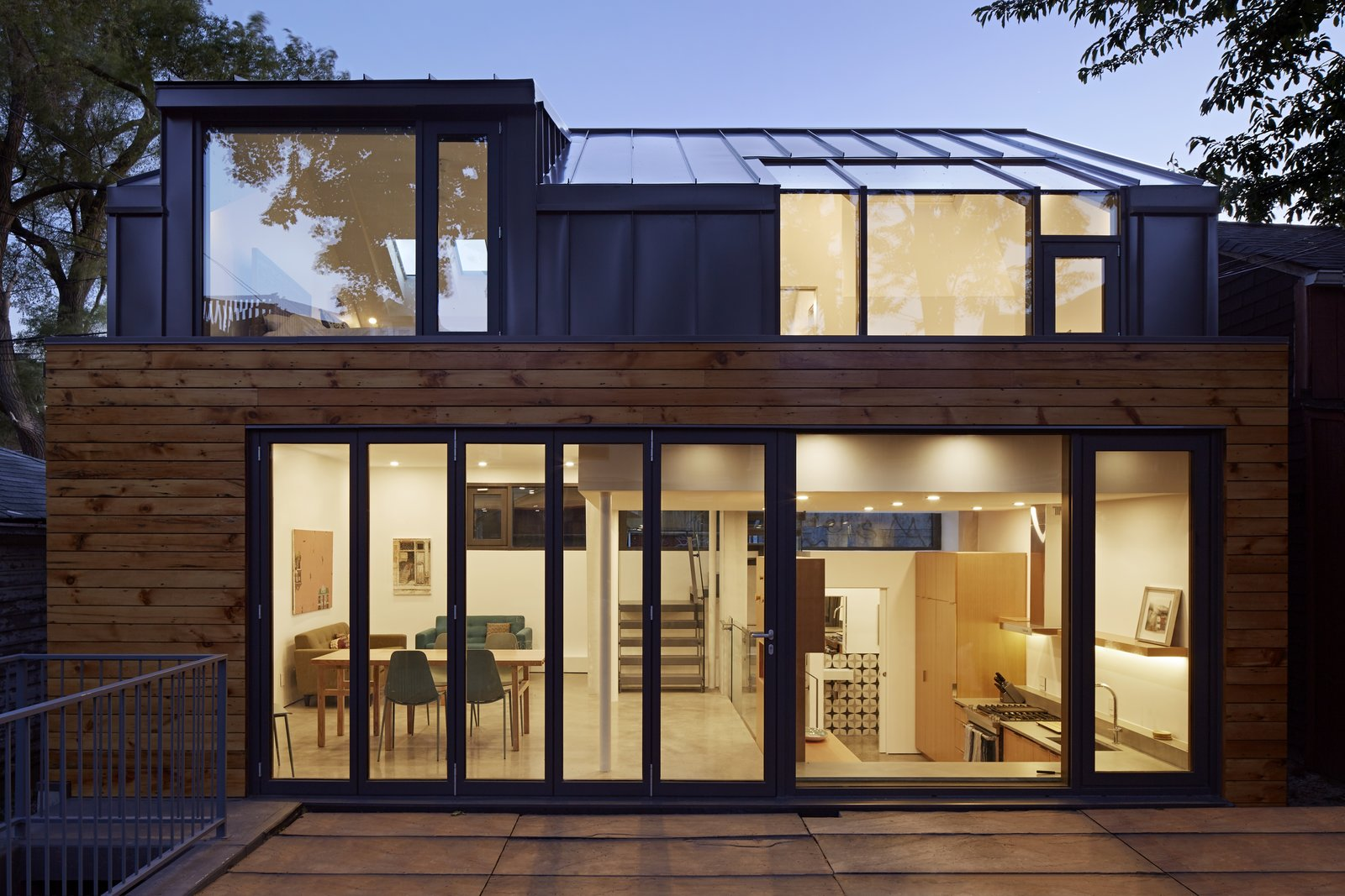 College Laneway House exterior