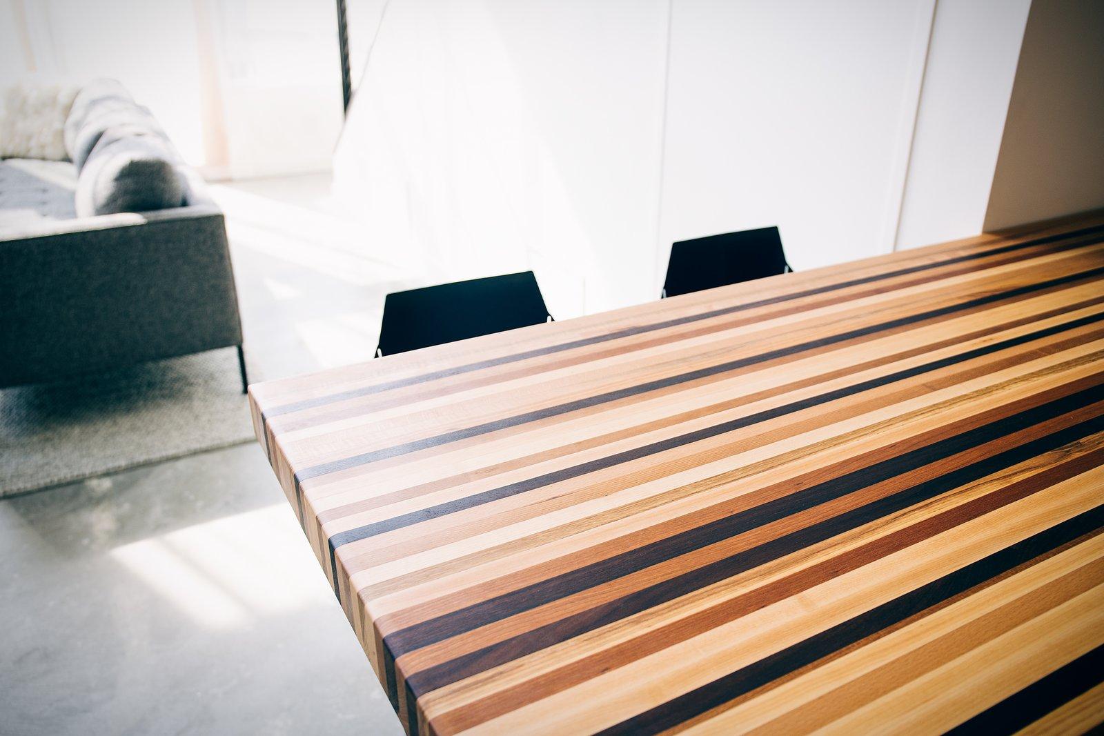Mission Loft wooden kitchen countertop