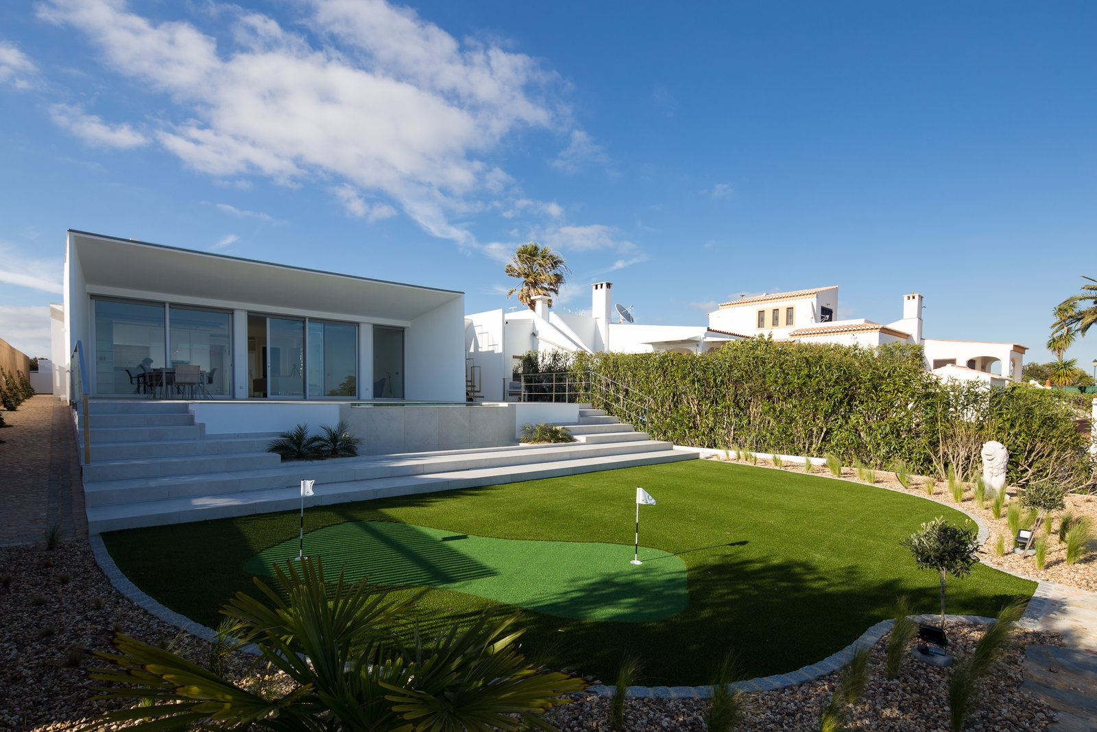 A Crisp, White Home in Portugal Soaks Up Sweeping Seaside Views