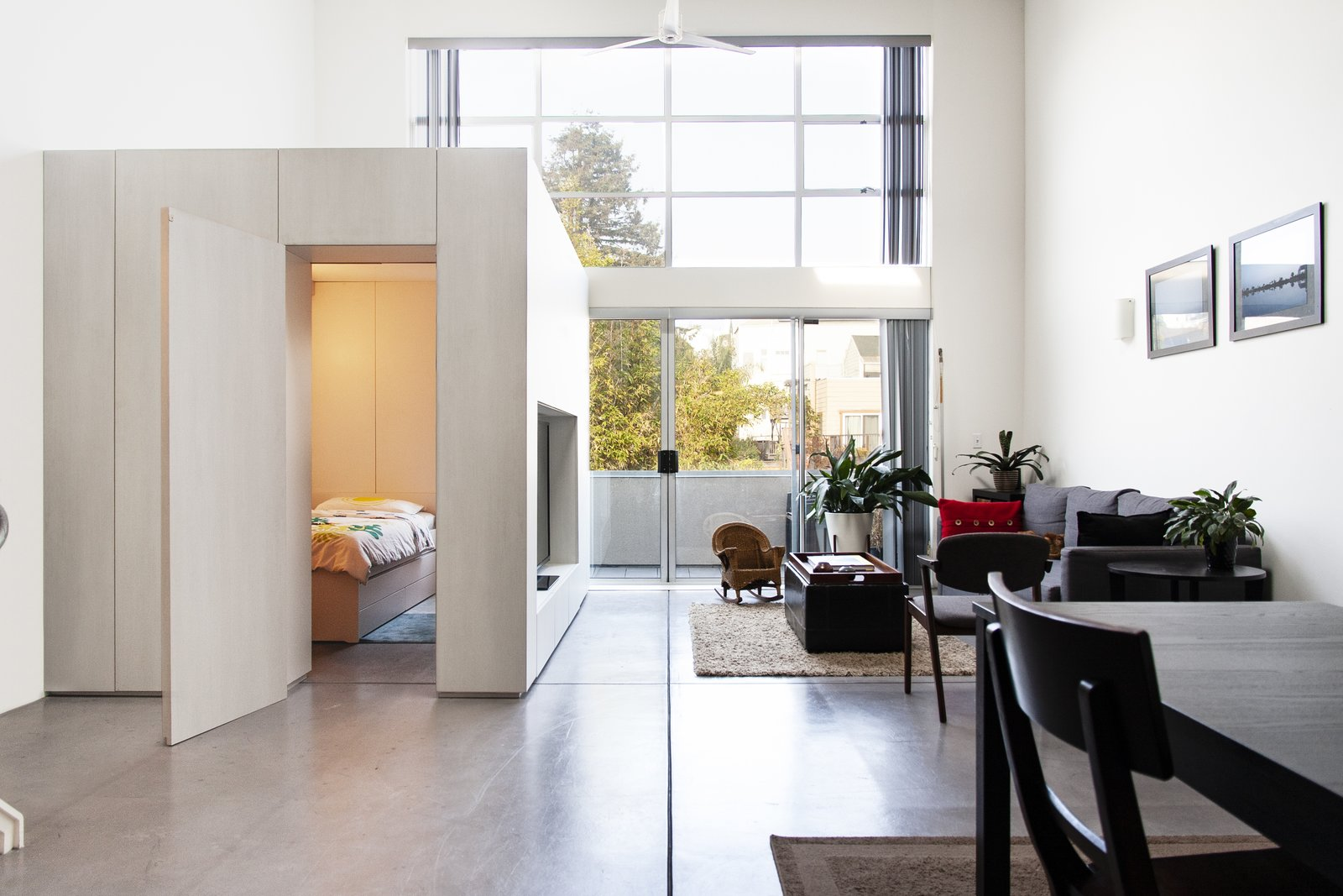 Budget Breakdown: Built For Under $10K, a Cabinet Room Expands a San Francisco Loft