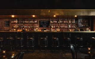 The revamped bar is open every day and embraces a vintage L.A. aesthetic.