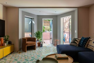 A Tattered Brooklyn Brownstone Is Brought Back to Life With Big Doses of Color