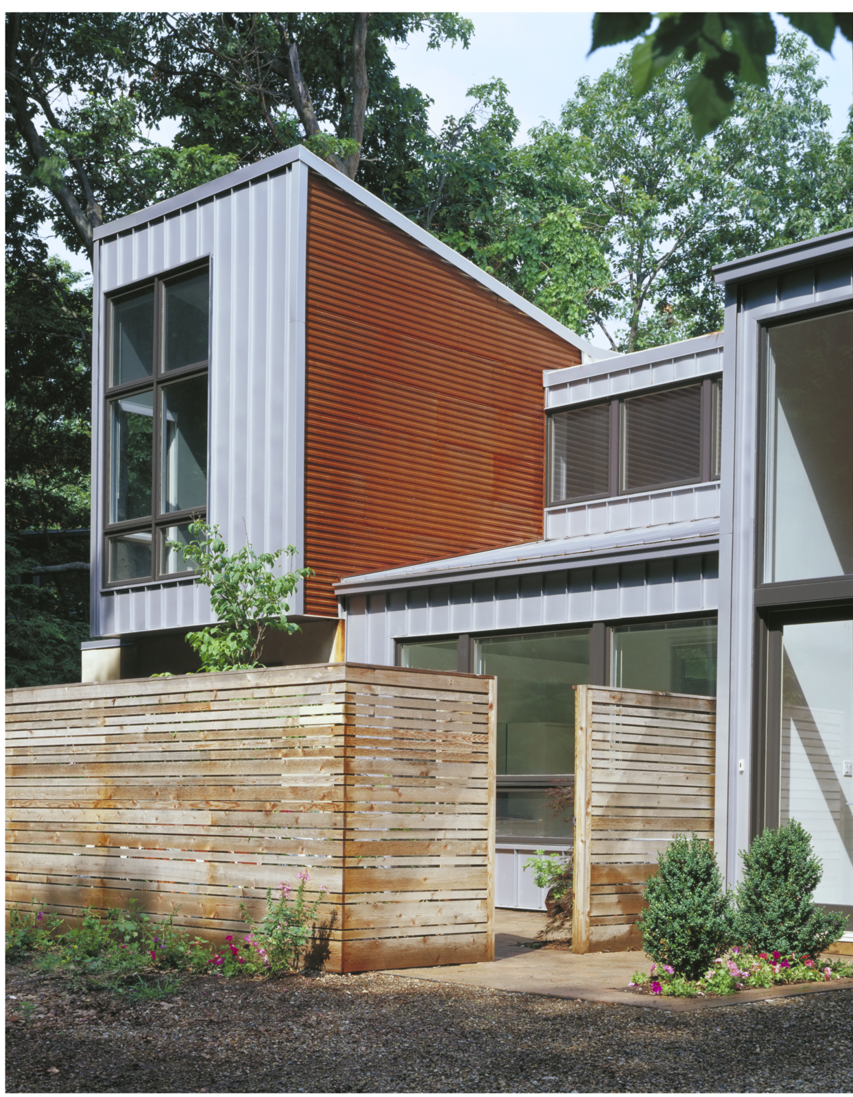 Exterior, House Building Type, Metal Siding Material, and Metal Roof Material  Harbert Dune Home by Kuklinski + Rappe Architects