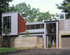 Modern home with Exterior and House Building Type. Photo 3 of Harbert Dune Home