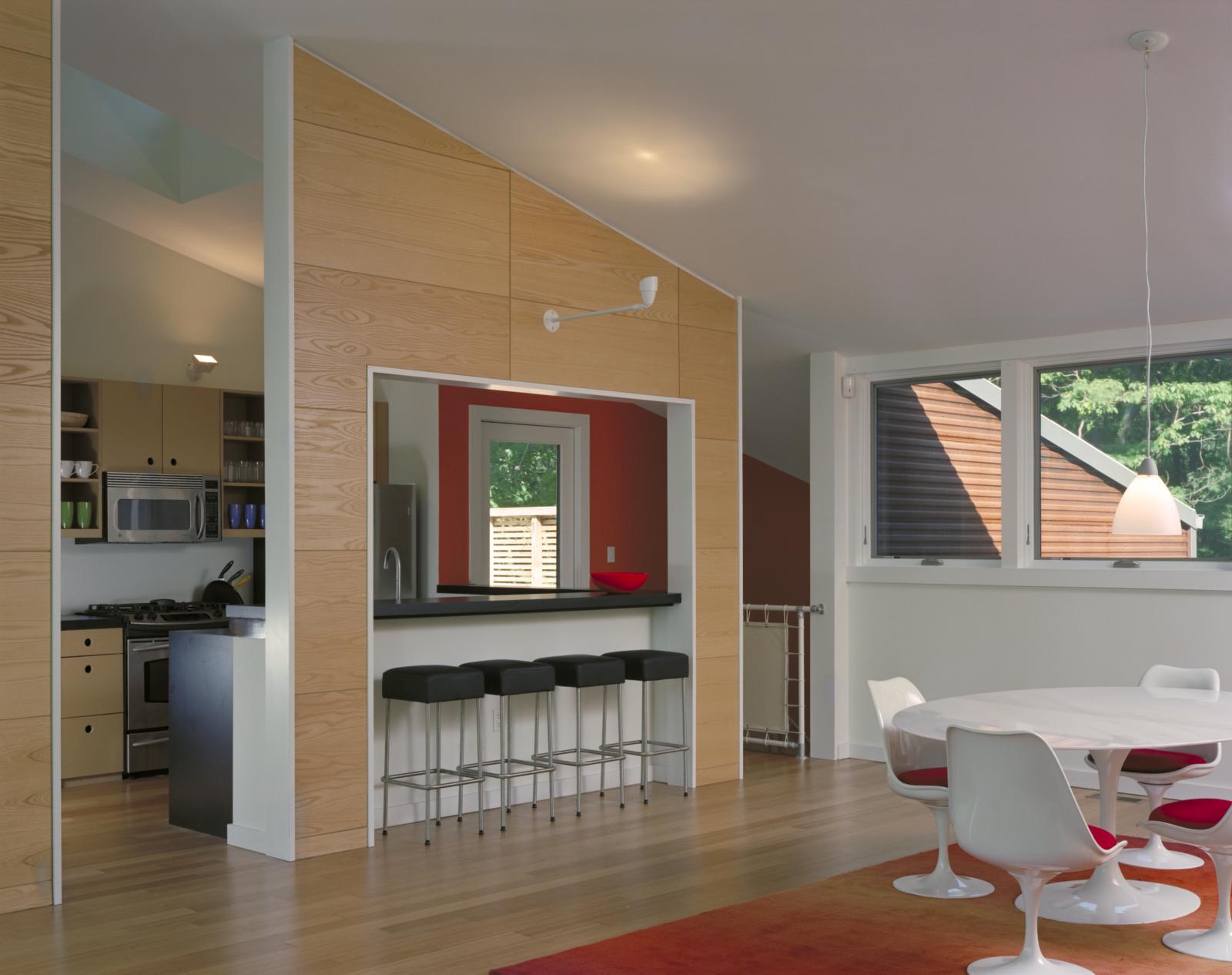 Kitchen  Harbert Dune Home by Kuklinski + Rappe Architects