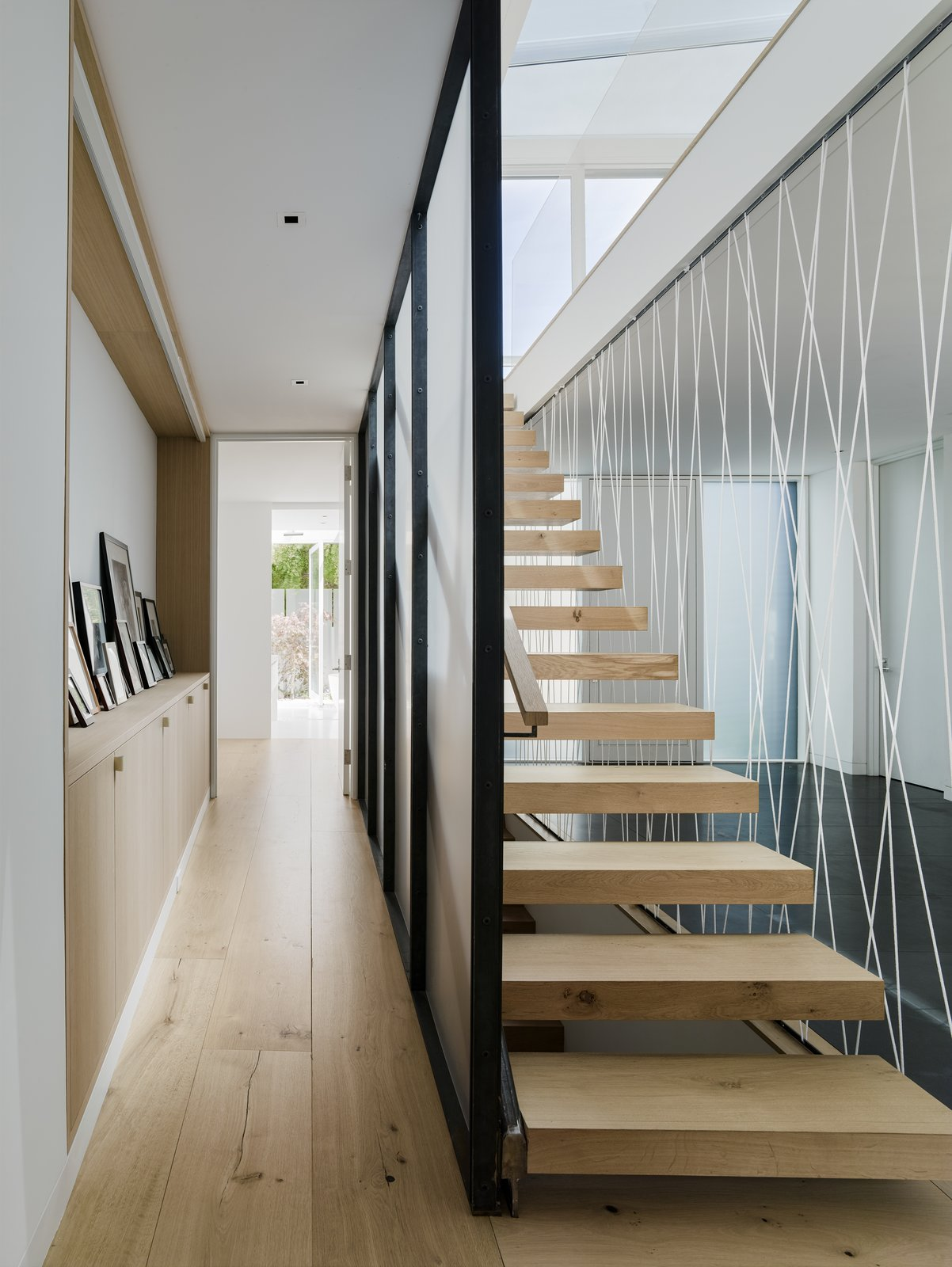 Medium Hardwood, Staircase, Cable, and Wood  Best Staircase Wood Medium Hardwood Photos