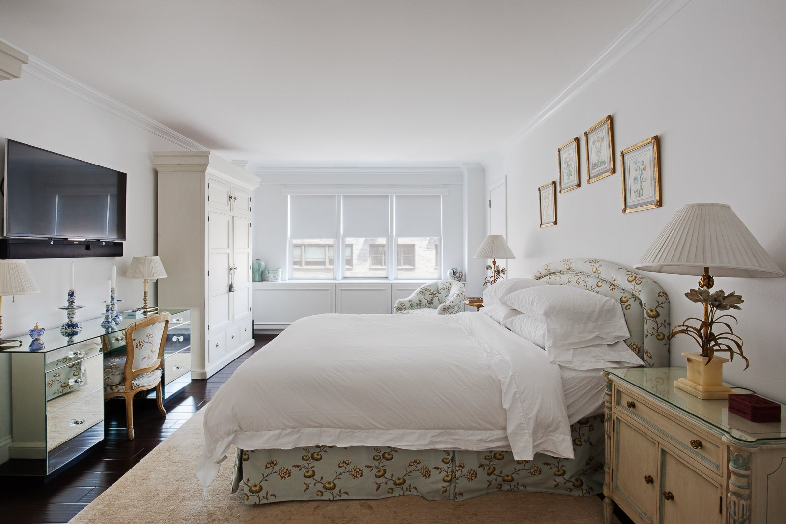 Bedroom  AN ART-FILLED APARTMENT RENOVATION 40 YEARS IN THE MAKING! by Pixy Interiors