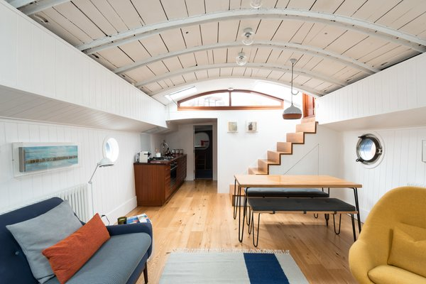 Londoners Can Live in This Scandinavian-Inspired, Converted Barge For $424K