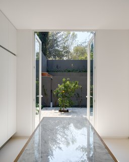 Delightful Material Contrasts Define a Courtyard Home in Mexico City - Photo 7 of 10 -