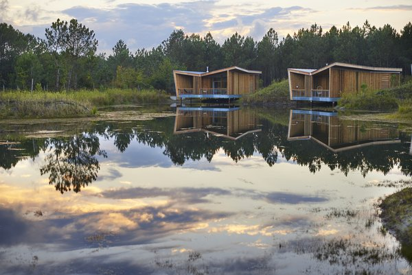 Harmonizing With Nature, These Eco-Huts Offer Respite in the Heart of France