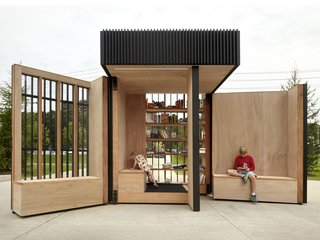 Toronto's Story Pod Doubles as a Lending Library and Community Hub