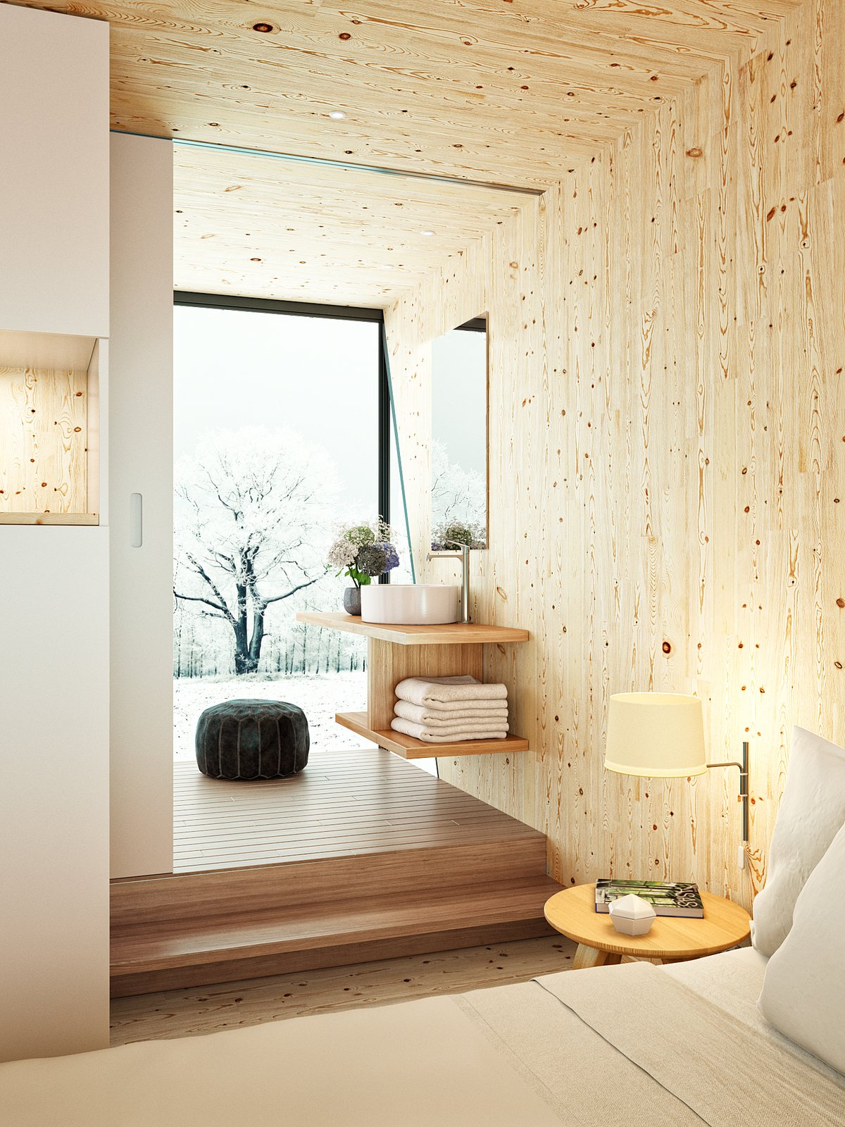 Hotel Room Photography: Photo 8 Of 9 In This Modular Eco-Hotel Room Is Poised To