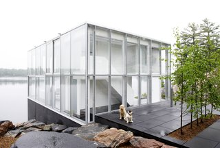 This Mesmerizing Glass House Is Also a Photographer's Lakeside Studio - Photo 1 of 13 -