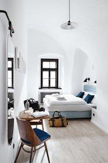 The Long Story Short Hostel in Olomouc, Czechia.