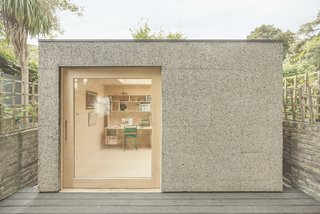 A London Couple's Backyard Studio Is Clad in Sustainable Cork - Photo 2 of 8 -