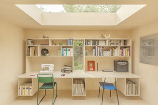 A London Couple's Backyard Studio Is Clad in Sustainable Cork - Photo 4 of 8 -