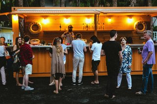 Forget Coworking—These Coliving Spaces Let You Travel the World For $1,800 a Month - Photo 7 of 25 - Roam Miami's Pop-Up Bar is the spot for evening drinks and meeting other Roam travelers.