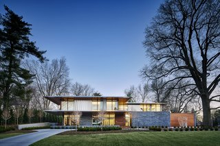 A Luminous, Eco-Friendly Abode Is Completed With its Own Modern Art Gallery