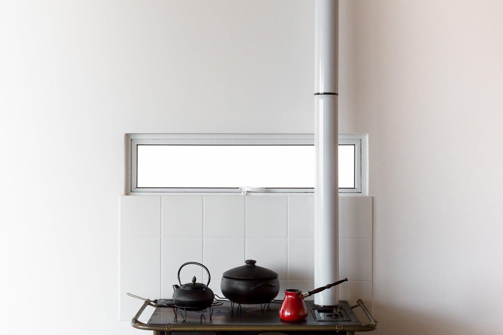 Kitchen and Ceramic Tile Backsplashe  View House by Barbara Becker