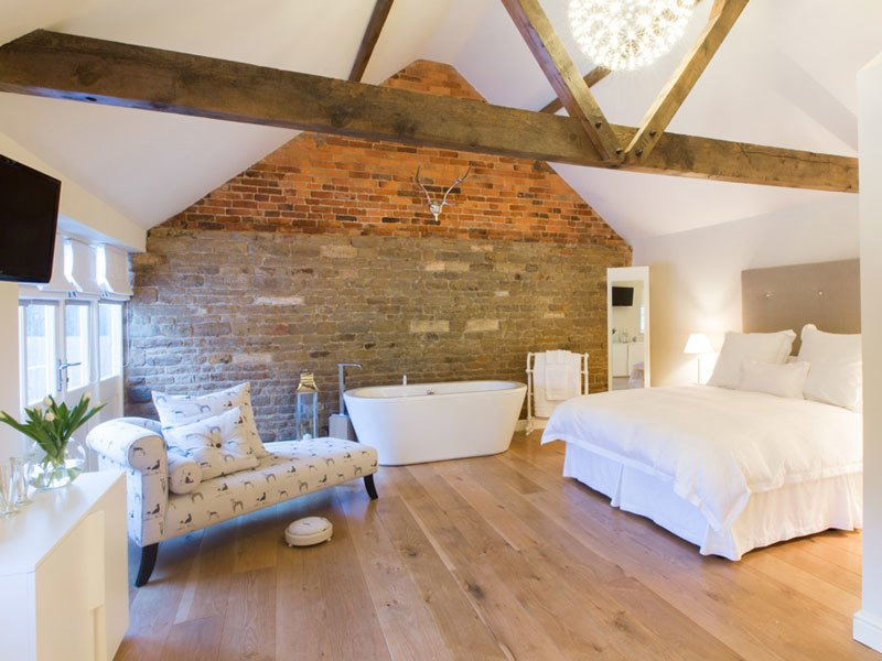 Nestled in the Vale of Belvoir, guests are able to explore the countryside, gardens, and great houses of Lincolnshire.  Photo 6 of 10 in 9 Modern Bed-and-Breakfasts in Europe