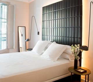 "Located in the ""Art Nouveau"" district of Barcelona, guests are treated to open modern spaces."