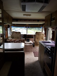 A Portland Couple Renovate a 1982 RV, Turning It Into Their New Home - Photo 2 of 12 - Kamarul's RV pre-renovation.