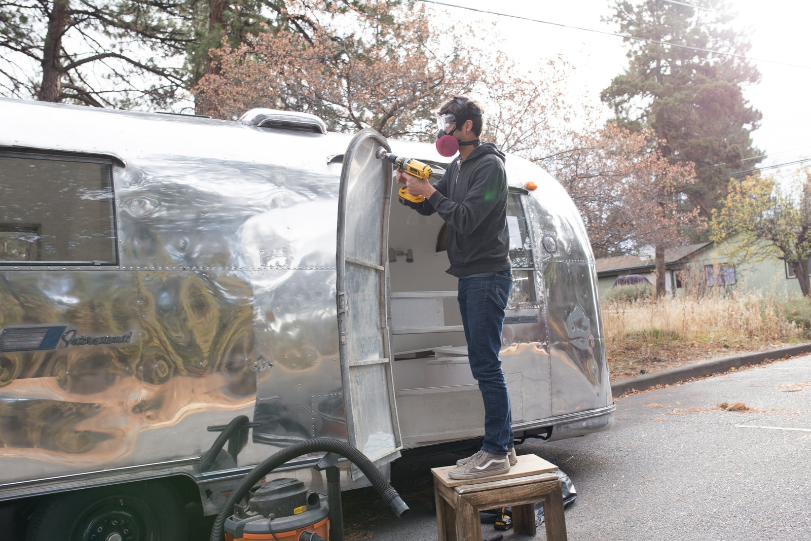 Photo 10 of 25 in See How an Oregon Couple Renovated Their 1966 Airstream