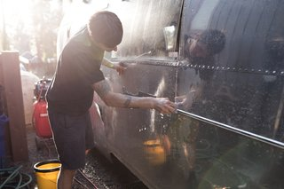 See How an Oregon Couple Renovated Their 1966 Airstream - Photo 5 of 24 -