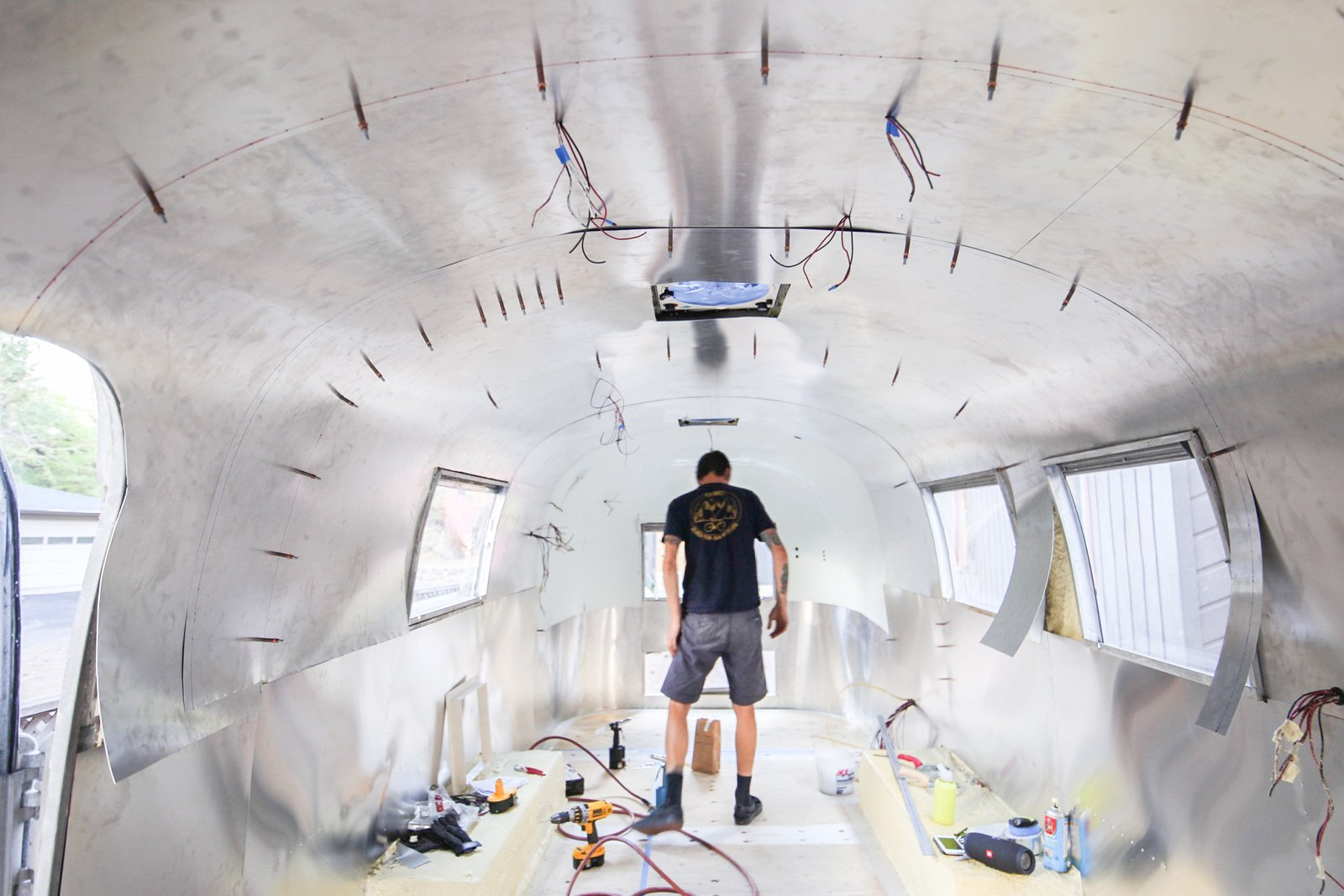 Photo 8 of 25 in See How an Oregon Couple Renovated Their 1966 Airstream