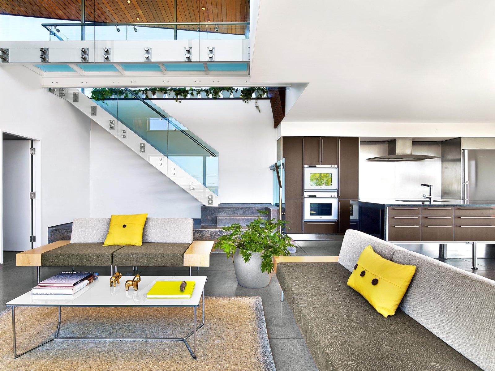 Living Room, Sofa, and Coffee Tables  Cape Cod - Beach House by Hariri & Hariri Architecture
