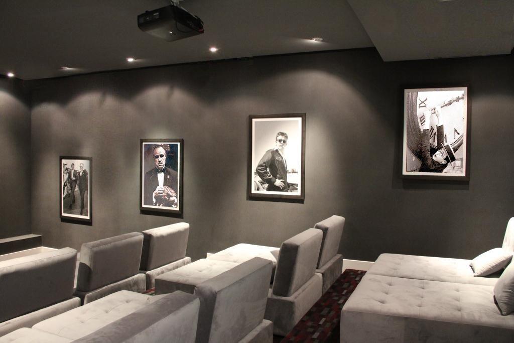 Shed & Studio and Home Theater Room Type  Lavasan Villa by Hariri & Hariri Architecture