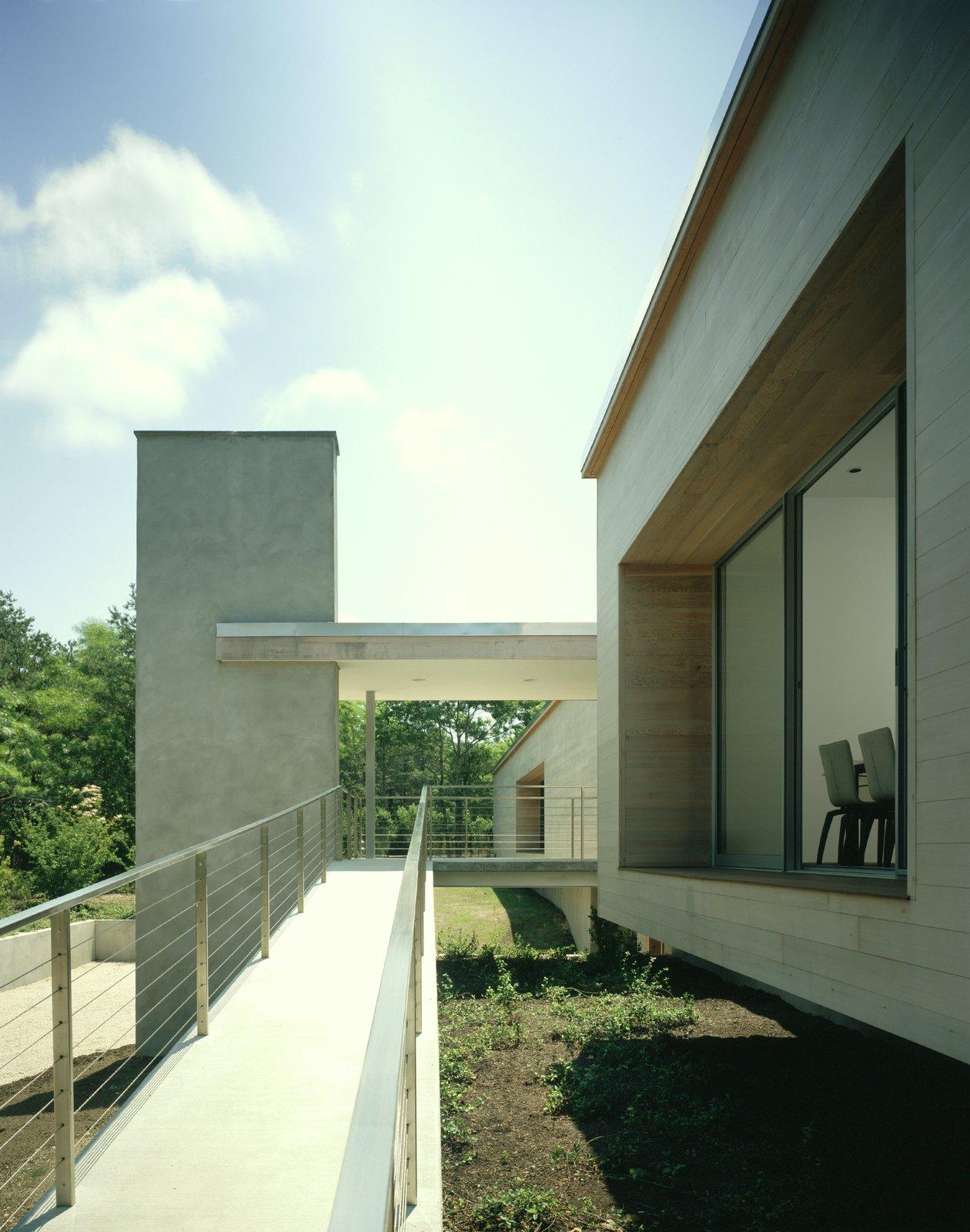Outdoor, Decking Patio, Porch, Deck, and Walkways  Sagaponac House by Hariri & Hariri Architecture