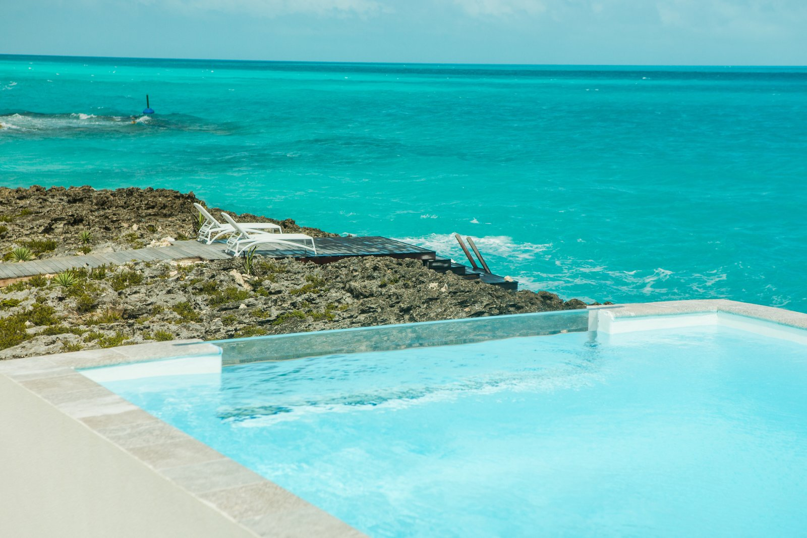 Outdoor, Large Pools, Tubs, Shower, Plunge Pools, Tubs, Shower, Outdoor, Infinity Pools, Tubs, Shower, and Front Yard  Tip of the Tail Villa