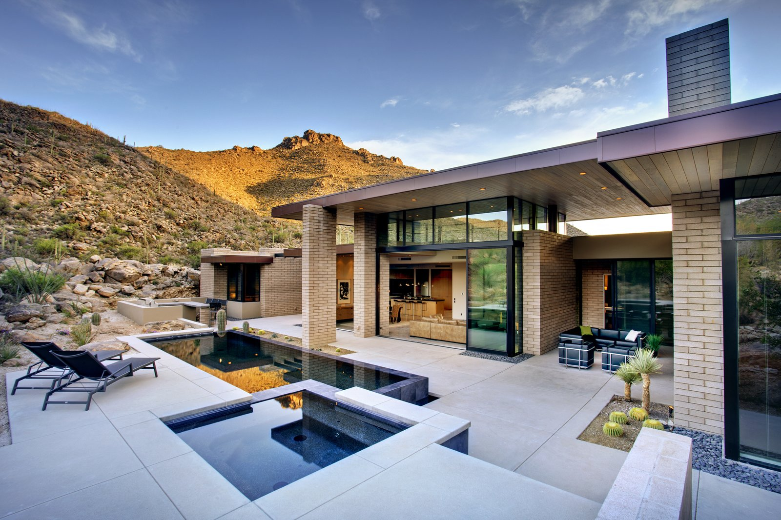 desert mountain home modern home in tucson  arizona by kevin b howard u2026 on dwell