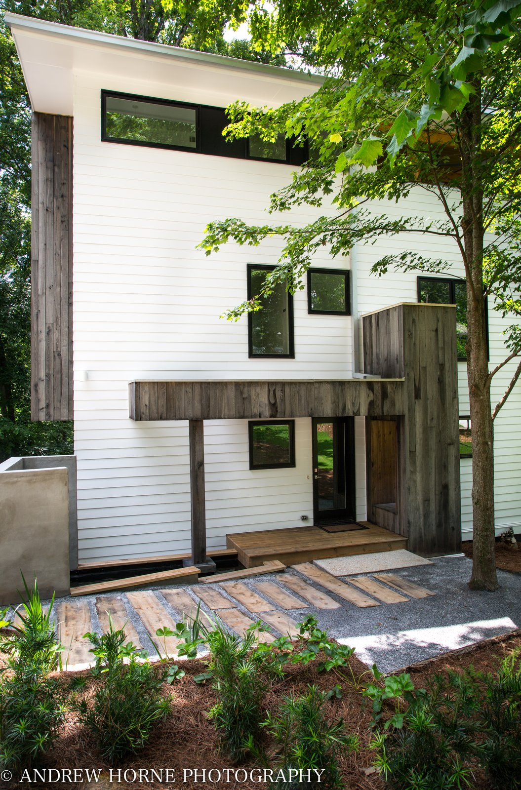 Outdoor, Trees, Small, Vegetables, Hardscapes, Walkways, Front Yard, Small, Pavers, and Wood  Best Outdoor Vegetables Wood Photos from Tree House