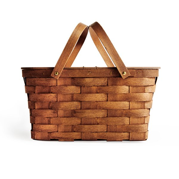 Peterboro Basket Company Twin Split Picnic Basket