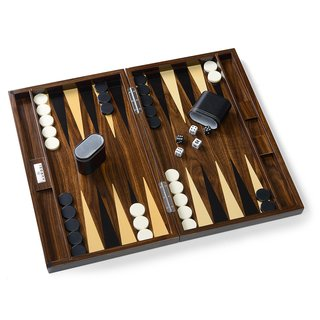 Aurosi Walnut Wood Backgammon Set